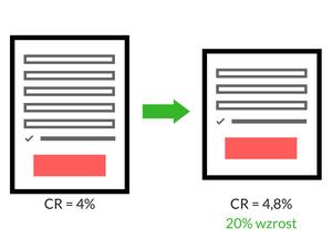 optymalizacja landing page mniej pol w formularzu