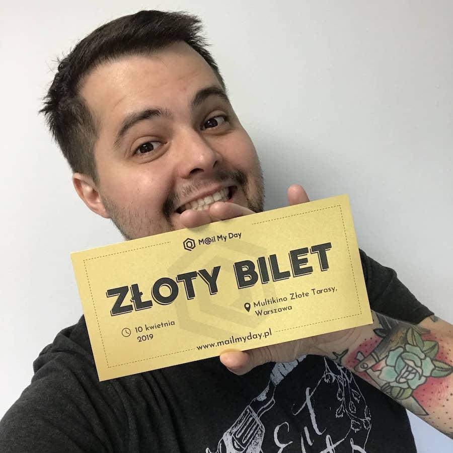 Złoty Bilet Mail My Day